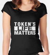 TOKEN'S LIFE MATTERS (Cartman's Shirt) Women's Fitted Scoop T-Shirt