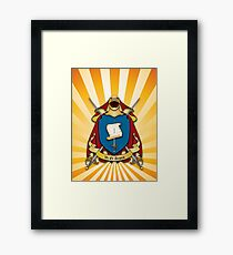 Assume Arms Coat of Arms Framed Print
