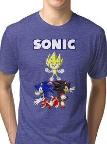 TEAM SONIC TSHIRT Tri-blend T-Shirt
