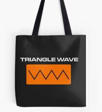 Triangle Wave Tote Bag