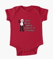 I Only Walk When Nobody is Looking One Piece - Short Sleeve