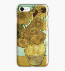 Vincent Van Gogh - Sunflowers 1888 iPhone Case/Skin