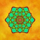 Pure Energy Mandala by Lucie Rovná