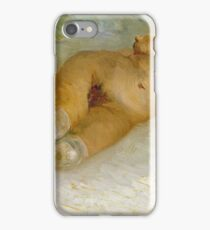 Vincent Van Gogh - Reclining Female Nude, 1887 iPhone Case/Skin
