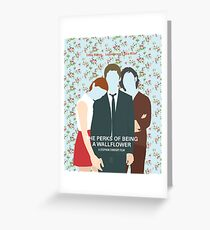 The Perks Of Being A Wallflower Greeting Card