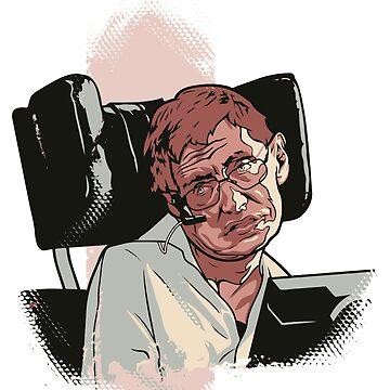 Stephen Hawking by Cloxboy