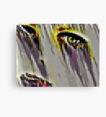 Crying Eye Canvas Print