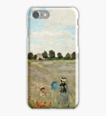 Claude Monet - Poppy Field (1873)  iPhone Case/Skin