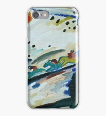 Wassily Kandinsky - Romantic Landscape 1911  iPhone Case/Skin
