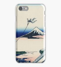 Hokusai Katsushika - Asakusa Hongan-ji temple in the Eastern capital [Edo] iPhone Case/Skin