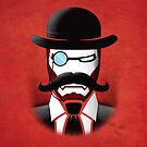 Iron Gentleman by Dragan Radujko