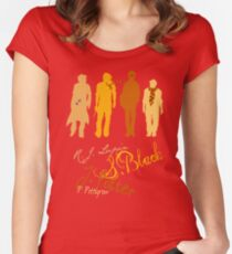 Four Marauding Marauders Women's Fitted Scoop T-Shirt