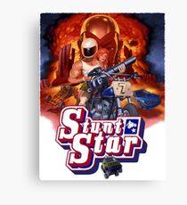 Stunt Star. Tombstone 2000 Canvas Print
