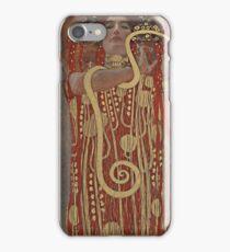 Gustav Klimt - Medicine - Hygieia, 1900 iPhone Case/Skin