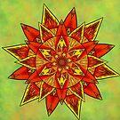 Mandala Full Of Energy by Lucie Rovná