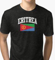 Eritrea Flag t-shirt Tri-blend T-Shirt
