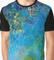 Claude Monet - Wisteria (circa 1925)  Graphic T-Shirt