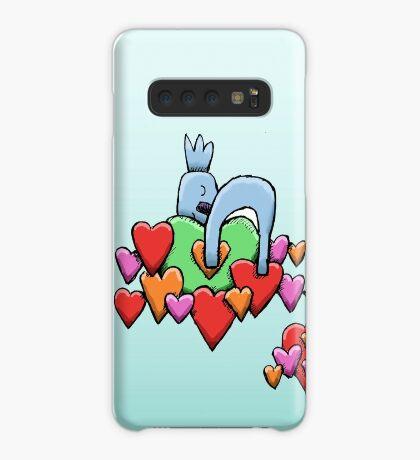Cute Koala Sleeping on Hearts Case/Skin for Samsung Galaxy