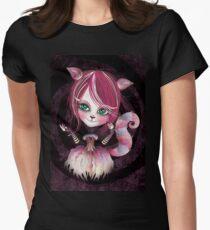 Cheshire Kitty Women's Fitted T-Shirt
