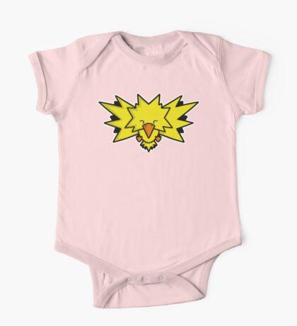 Super Cute Legendary Bird - Team Yellow Kids Clothes