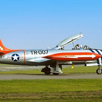 Lockheed T-33A 51-8566 G-TJET by oscar533