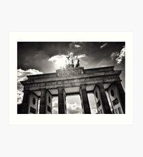 Brandenburg Gate (Brandenburg Gate) - Berlin Germany Art Print
