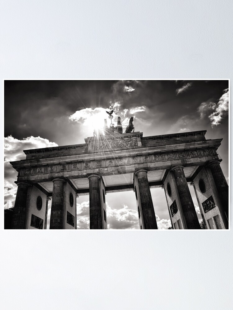 Alternate view of Brandenburg Gate (Brandenburg Gate) - Berlin Germany Poster