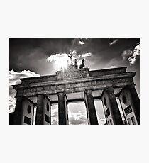Brandenburg Gate (Brandenburger Tor) - Berlin Germany Photographic Print