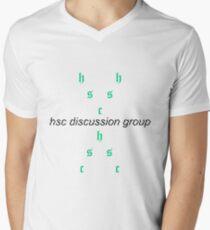 HSC DISCUSSION GROUP Men's V-Neck T-Shirt