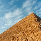 Pyramid of Khufu (Cheops), Giza, Egypt by Petr Svarc