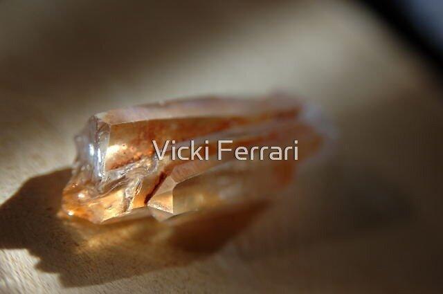 Tangerine Quartz © Vicki Ferrari by Vicki Ferrari