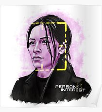 Sameen Shaw (Person of Interest) Poster