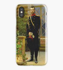 Ilya Repin - Nikolai II iPhone Case/Skin