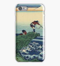 Hokusai Katsushika - Kajikazawa in Kai Province iPhone Case/Skin