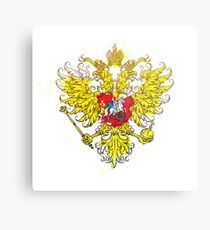 Lienzo metálico Stylized coat of arms of Russia