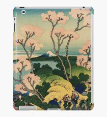 Hokusai Katsushika - Goten-yama-hill, Shinagawa on the Tokaido iPad Case/Skin