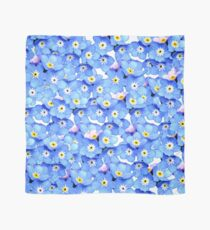 Forget-Me-Not Flowers Scarf