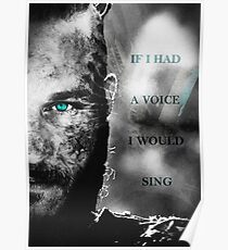 If I Had a Voice Poster