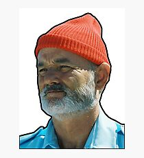 Bill Murray as Steve Sizzou  Photographic Print
