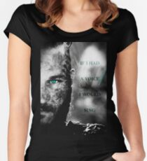 If I Had a Voice Women's Fitted Scoop T-Shirt