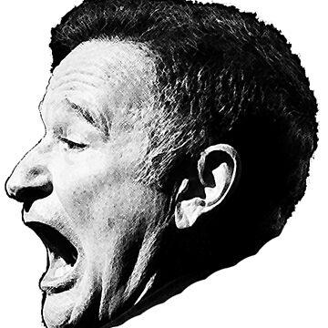 Robin Williams funny scream by javics