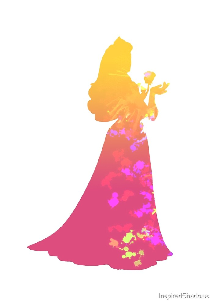 Princess Inspired Silhouette by InspiredShadows