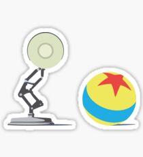 Luxo Ball and Lamp  Sticker