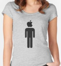 Apple Man Women's Fitted Scoop T-Shirt