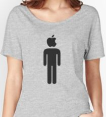 Apple Man Women's Relaxed Fit T-Shirt