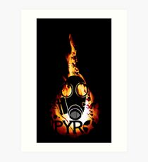 Team Fortress 2 - Pyro Art Print