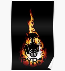 Póster Team Fortress 2 - Pyro
