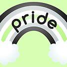 Agender Rainbow Pride by riotcakes