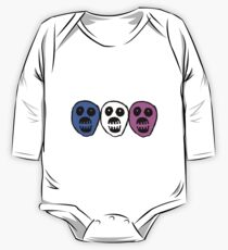 Trans colours Boosh heads One Piece - Long Sleeve