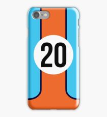 GULF RACING - LE MANS CLASSIC iPhone Case/Skin